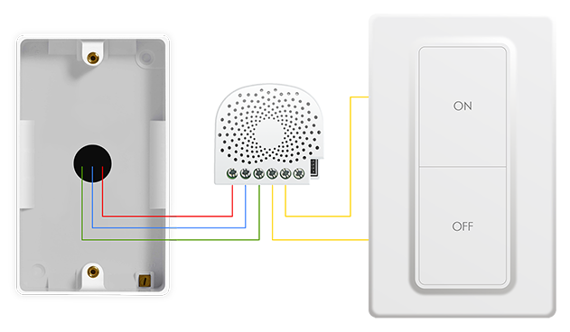 nano dimmer wiring with switch