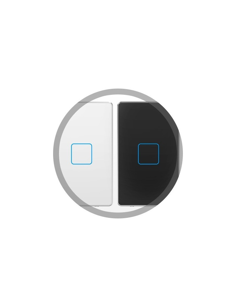 Touch Panels (1 button) (White / Ocean Mist)