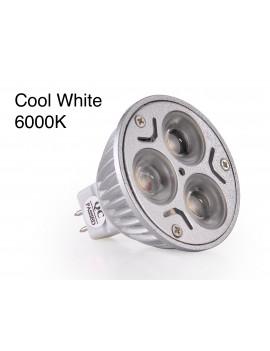 3x3Watt MR16 LED - Cool White